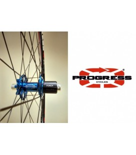 Progress Ruedas MTB Progress XCD-DYN 29' Azules Buje Turbine Ultra