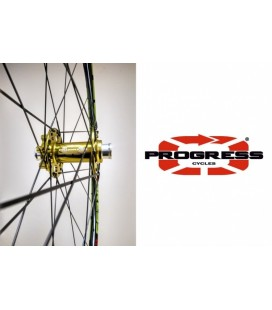 Progress Ruedas MTB Progress XCD-DYN 29' Verdes Buje Turbine Ultra