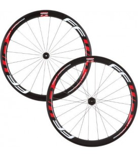 Wheels Juego ruedas FFWD F4R 45mm tubular carbono blancas