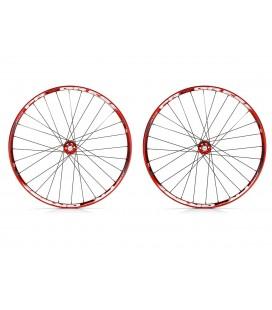 Progress Juego de ruedas Progress XCD-EVO 29''rojas