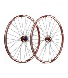 Progress Juego de ruedas Progress XCD-EVO 26'' rojas