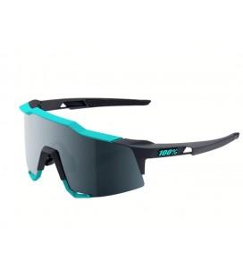 Gafas 100% Speedcraft SL azul gris lentes negro espejadas
