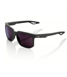 Gafas 100% Centric Soft Tact negro lente lila