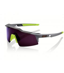 Gafas 100% Speedcraft SL gris lente lila oscuro