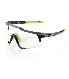 Gafas 100% Speedcraft negro lente fotocromática