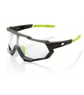 Gafas 100% Speedtrap Soft Tact gris lente fotocromática