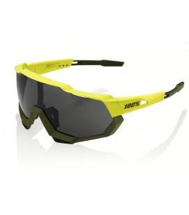 Gafas 100% Speedtrap Soft Tact amarillo lente negro
