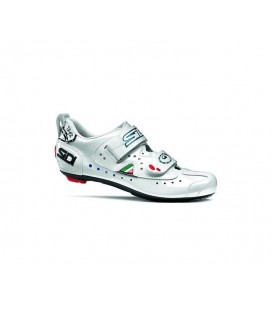 ZAPATILLAS SIDI CARRETERA T2 CARBON TRIATHLON BLANCO TALLA 40