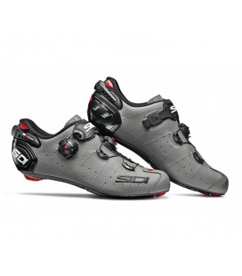 ZAPATILLAS SIDI WIRE 2 CARBON GRIS MATE/NEGRO
