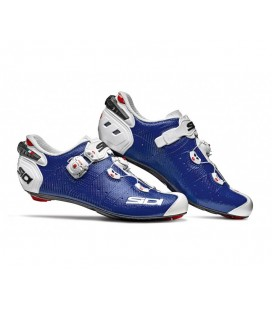 ZAPATILLAS SIDI WIRE 2 CARBON AZUL/BLANCO