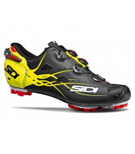 ZAPATILLAS SIDI TIGER CARBONO NEGRO/AMARILLO